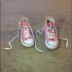 Pink airwalk high tops